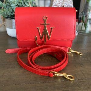 Scarlet 🛑 JW Anderson Mini Logo Bag